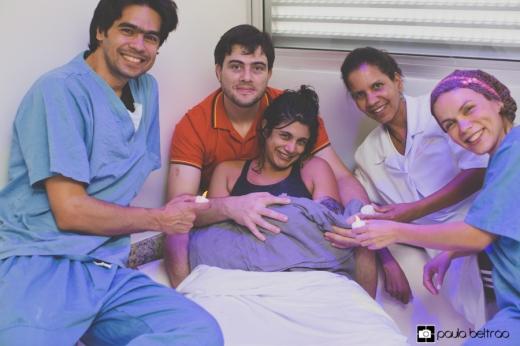 Os anjos do Instituto Nascer! Dr. Hemmerson, Bel Cristina e Dra. Quésia