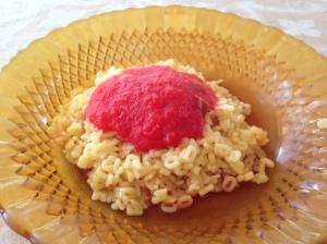 molho de tomate turbinado